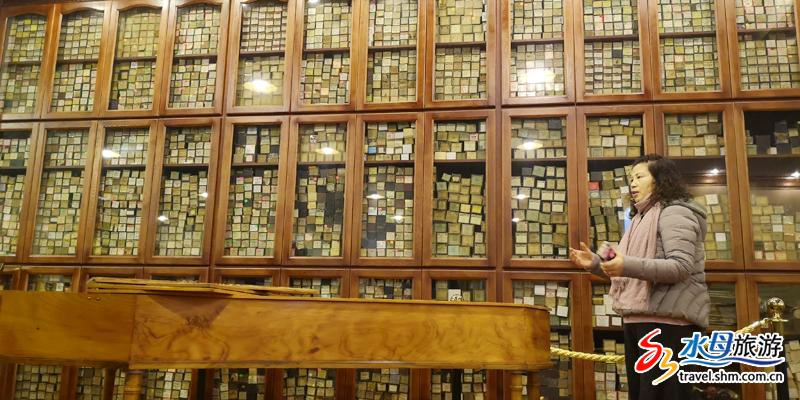 上万卷来自不同时期世界各地钢琴大家制作的卷轴,创造了属于烟台的又一项之最。