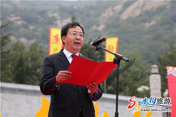 烟台磁山集团总经理张宝健先生致辞